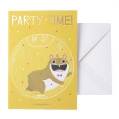 Wenskaart - Party Time!
