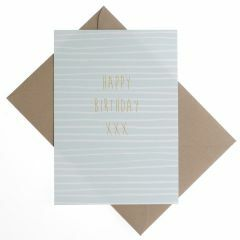 Wenskaart - Happy Birthday xxx