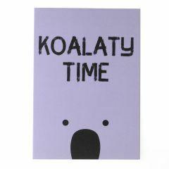 Wenskaart - koalaty time