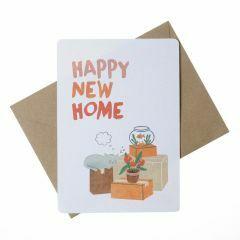 Wenskaart - Happy New Home