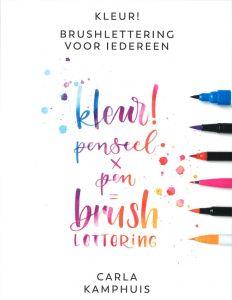 Kleur! Brushlettering voor iedereen