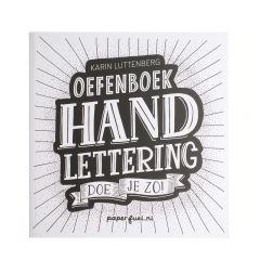 Oefenboek - Handlettering doe je zo!