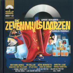 Hoorspel - De zevenmijlslaarzen - boek + cd