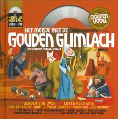 Hoorspel - Het meisje met de gouden glimlach - boek + cd