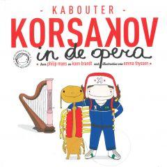 4+ Hoorspel - Kabouter Korsakov in de opera + cd