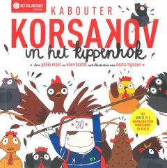 4+ Hoorspel - Kabouter Korsakov in het kippenhok + cd