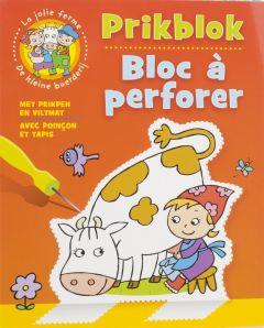 Prikblok thema de kleine boerderij
