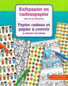 Kaftpapier en cadeaupapier om in te kleuren