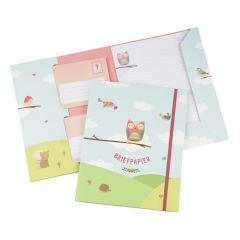 Briefpapier set 15 vellen + 10 enveloppen Vogels