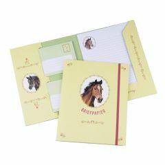 Briefpapier set 15 vellen + 10 enveloppen Paarden