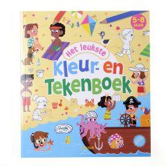Het leukste kleur- en tekenboek