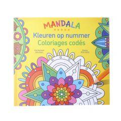 Mandala - Kleuren op nummer