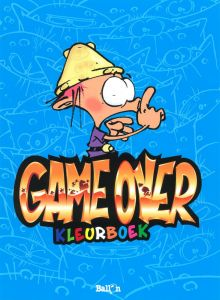 Kleurboek - Game Over