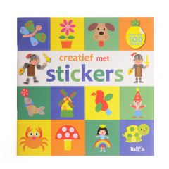 4+ Creatief met stickers - dieren