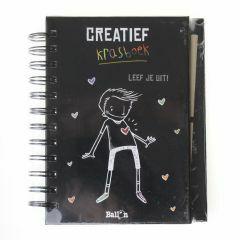 7+ Creatief krasboek - Leef je uit