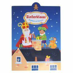 3+ Plakken en kleuren - Sinterklaas