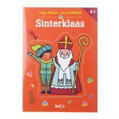 4+ Mijn kleur- en prikblok - Sinterklaas