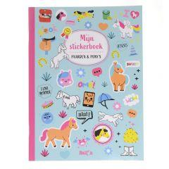 Mijn stickerboek - Paarden en pony's