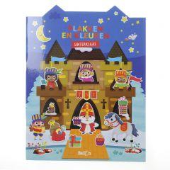 Plakken en kleuren - Sinterklaas