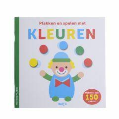 3+ Plakken en spelen met kleuren