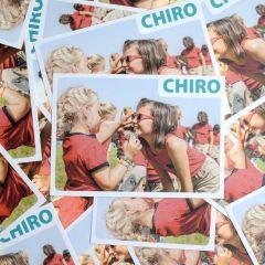 Bivakpostkaart 18 zonnebril 20 stuks