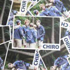 Bivakpostkaart 18 blauwe hemdjes 20 stuks