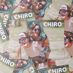 Bivakpostkaart 21 rugdragers 20 stuks