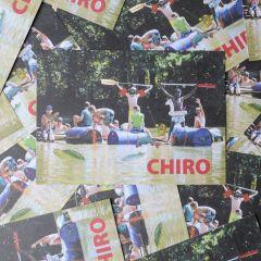 Bivakpostkaart 21 waterpret 20 stuks