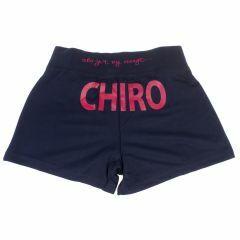 Ondershort Chiro blauw
