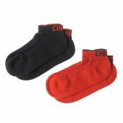 Sneakersok Chiro 2 paar (1 x rood, 1 x blauw) 25-26