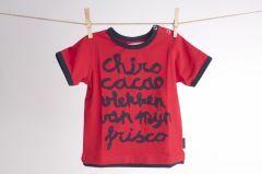 Peuter-T-shirt maat 92 Chiro cacao vlekken van mijn frisco