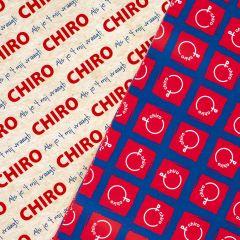 Chirokaftpapier (2 x 5 =) 10 vellen 59 x 84 cm
