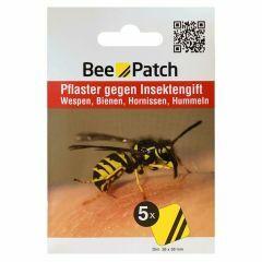 Bee Patch set van 5 pleisters voor bijen- of wespensteek