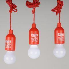 Kampeerlamp 'Chiro verlicht je dag' led incl. batterijen