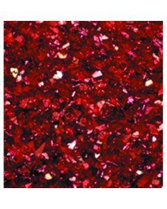 Aluminium glitter 30 g rood