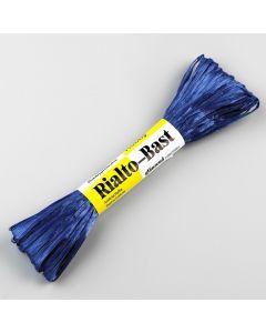 Raffia 23 m glans donkerblauw