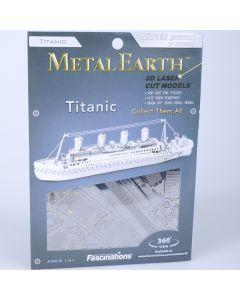 Metal Earth schip Titanic