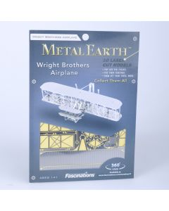 Metal Earth vliegtuig Wright Brothers