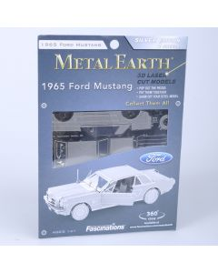 Metal Earth Ford Mustang coupe 1965