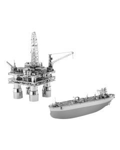 Metal Earth boorplatform en olietanker giftset