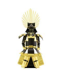 Metal Earth harnas Japanse Toyotom (zwart + goud)