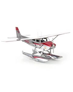 Metal Earth Cessna 182 drijvend vliegtuig