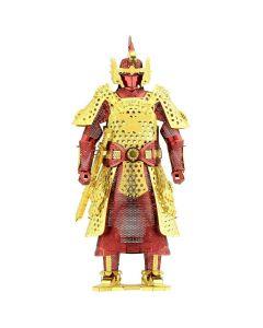 Metal Earth harnas Chinese Ming (rood + goud)