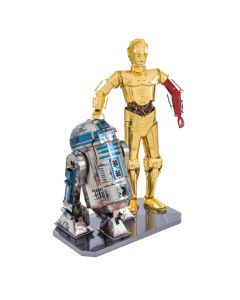Metal Earth Star Wars R2D2 en C-3PO giftset