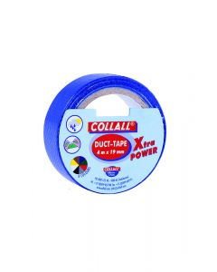 Collall duct-tape 19 mm breed 4 m blauw