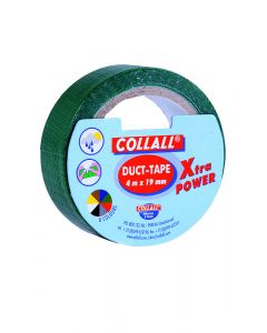 Collall duct-tape 19 mm breed 4 m groen