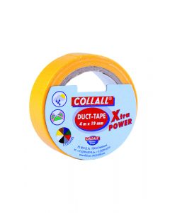 Collall duct-tape 19 mm breed 4 m geel