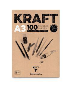 Kraftpapier 90 g 100 vellen A3