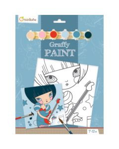 Graffy Paint rockster 7-12 jaar
