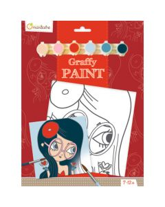 Graffy Paint bohemian 7-12 jaar